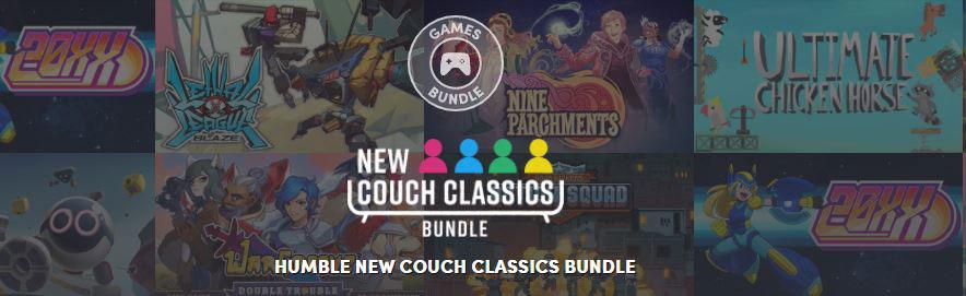 На Humble Bundle продают набор для совместной игры на диване