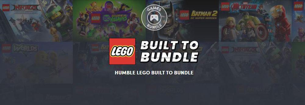На Humble Bundle продают набор LEGO-игр