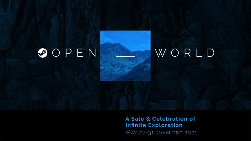 Распродажа «Открытый мир» в Steam пройдет в конце мая