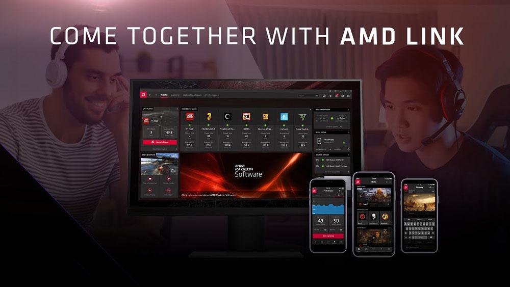 AMD Link теперь поддерживает совместную игру с друзьями