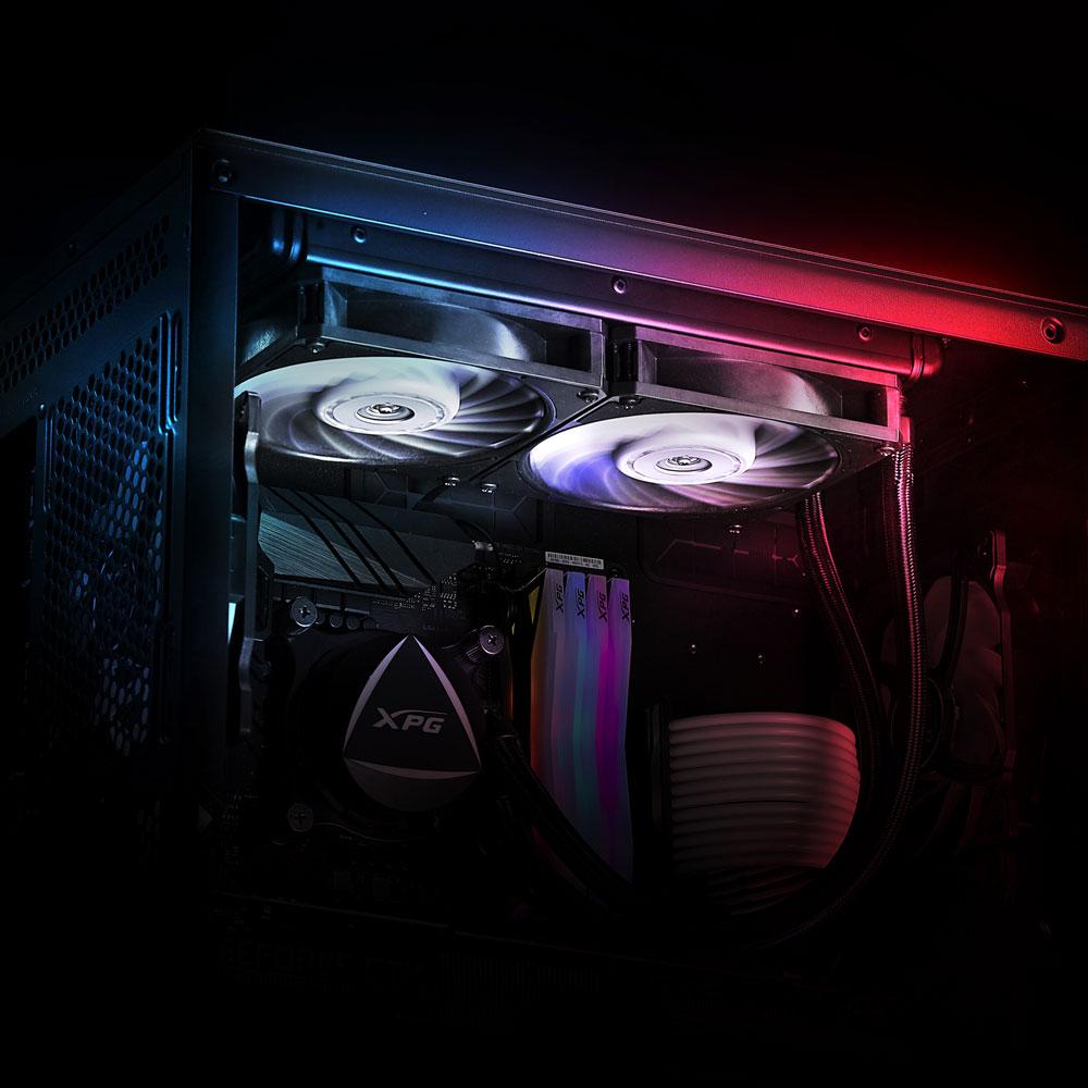 Больше систем охлаждения красивых и разных. XPG теперь партнер Nidec Servo Corporation