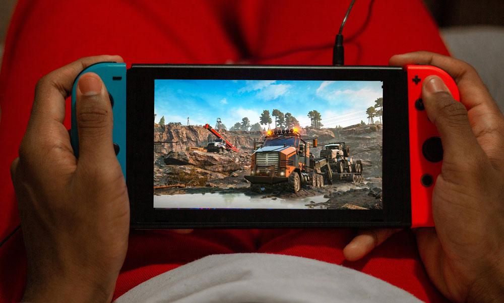 Симулятор езды по бездорожью SnowRunner выйдет на Nintendo Switch 18 мая