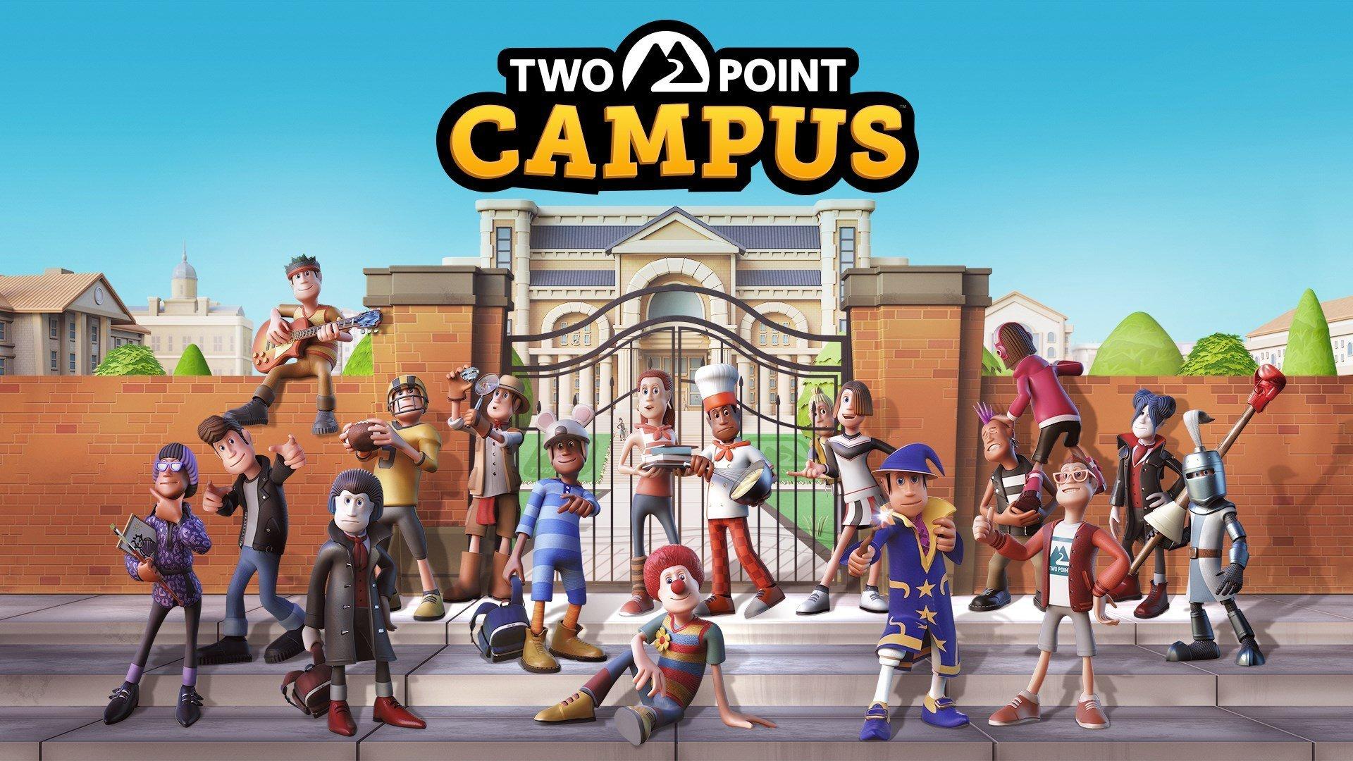 Two Point Campus раньше времени появилась в Microsoft Store