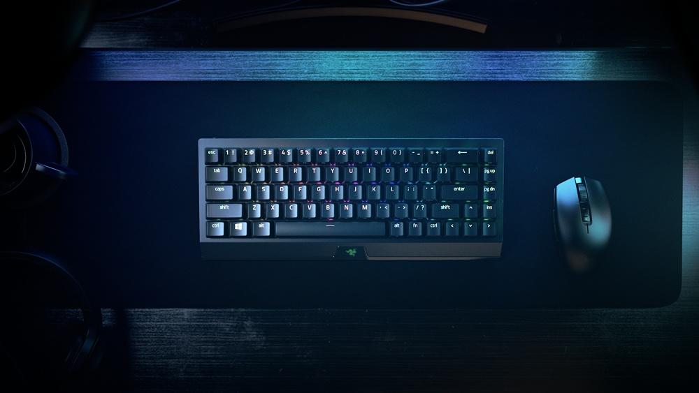 Razer выпустила миниатюрную версию клавиатуры BlackWidow V3 HyperSpeed