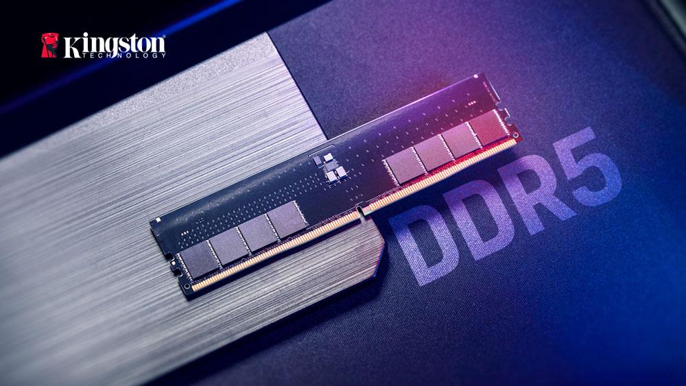 Kingston начала готовиться к запуску производства DDR5