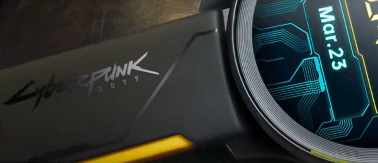 OnePlus представила часы в стилистике Cyberpunk 2077