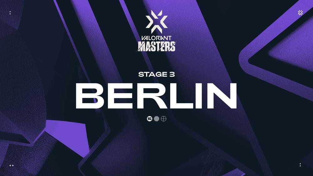 Третий международный этап Masters в рамках VALORANT Champions Tour пройдет в Берлине