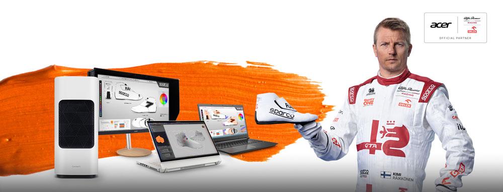 Acer и Кими Райкконен ищут дизайнеров