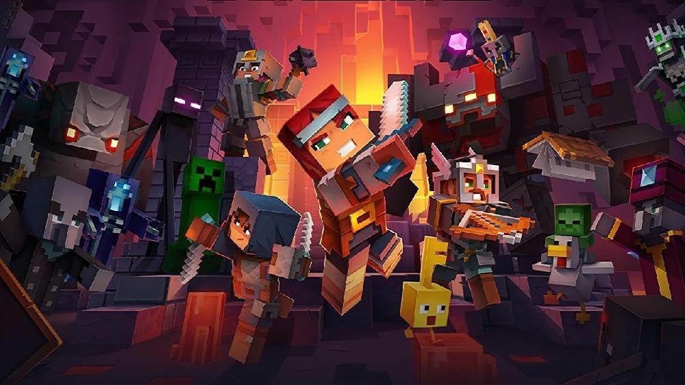 Minecraft Dungeons добралась до Steam
