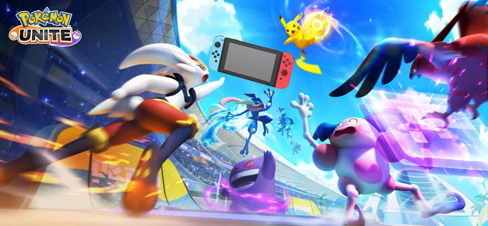 Pokémon UNITE выйдет на Nintendo Switch