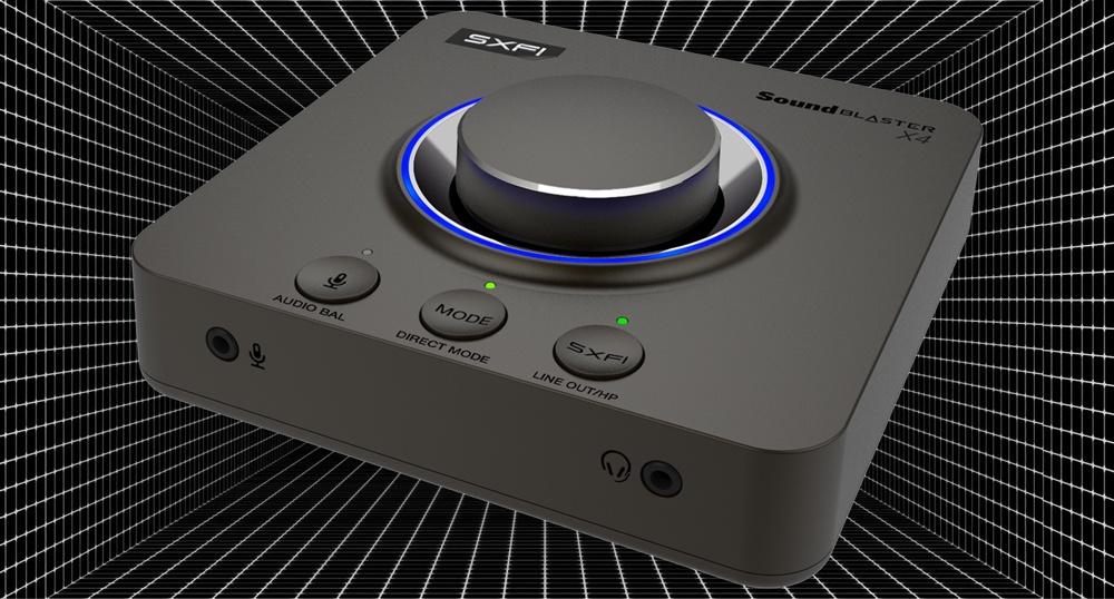 Creative Technology анонсировала старт продаж Sound Blaster X4