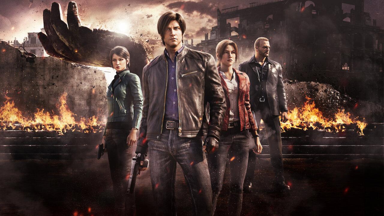 Resident Evil: Infinite Darkness уже доступен для просмотра