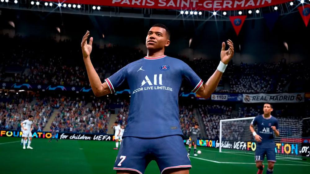 EA опубликовала список игроков с наивысшим рейтингом в FIFA 22