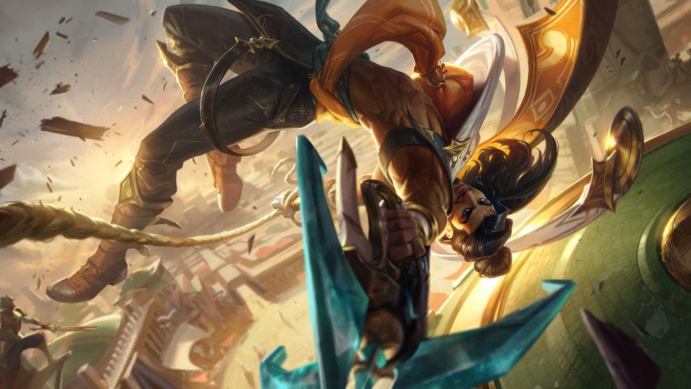 Riot Games представила Акшана