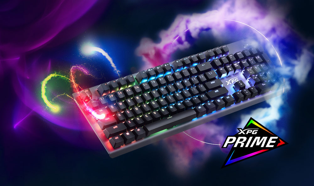 XPG показала механическую игровую клавиатуру MAGE