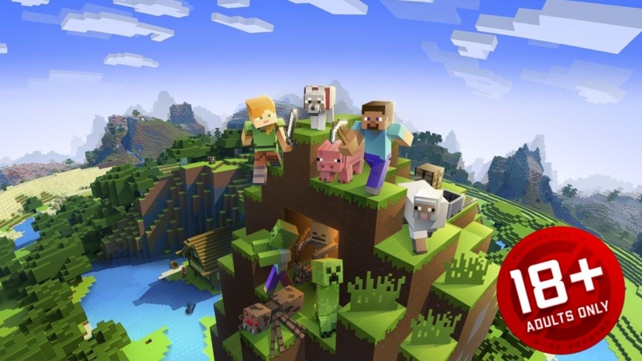 Minecraft получил возрастной рейтинг R