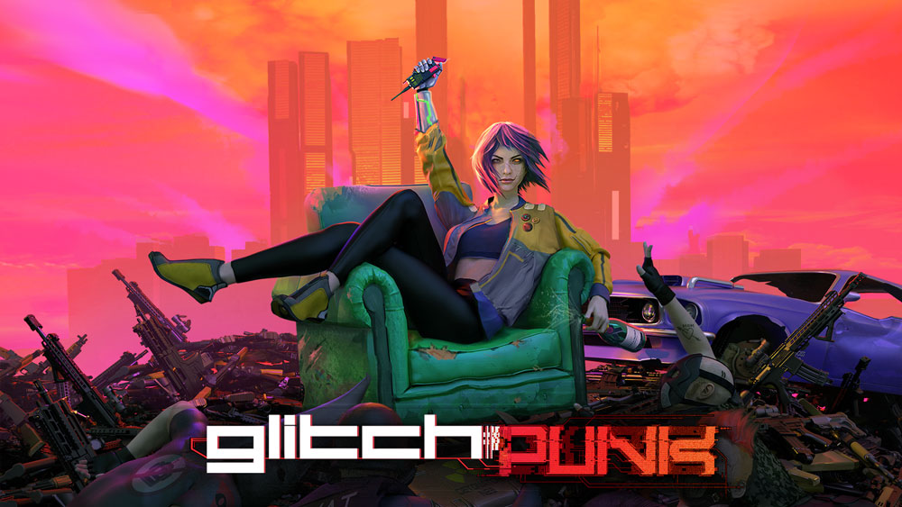 GTA в стиле киберпанк. Glitchpunk появится в раннем доступе Steam уже 11 августа