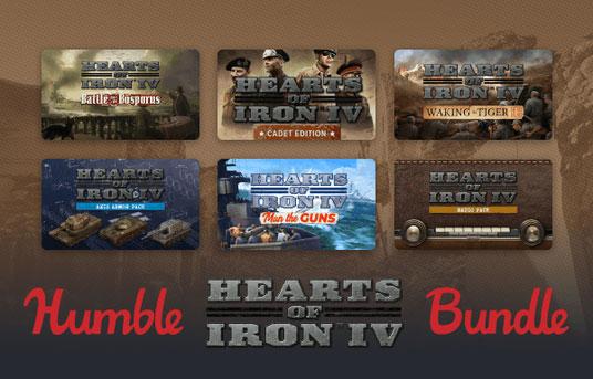 На Humble Bundle продается набор Hearts of Iron IV