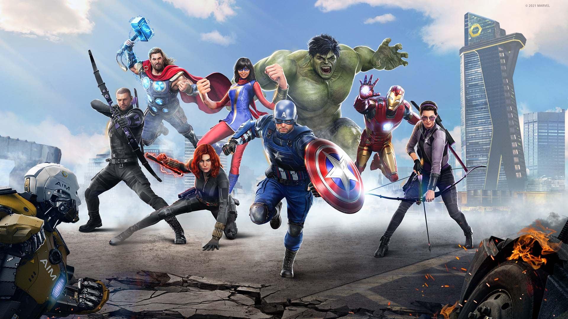 Бесплатные выходные: Marvel's Avengers