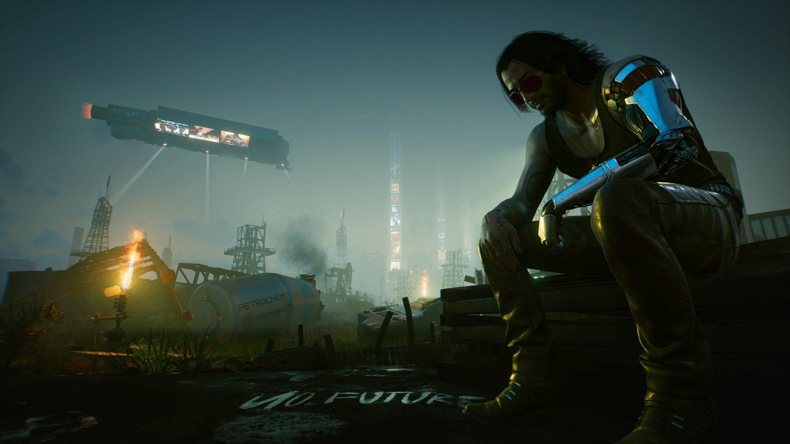Мегамод на Cyberpunk 2077
