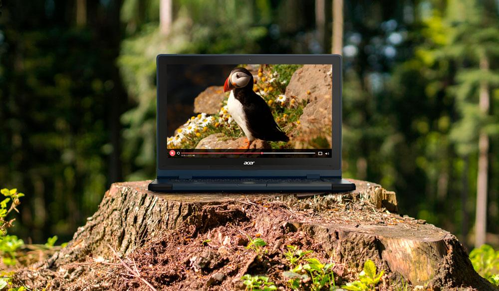 Стартовали продажи защищенного ноутбука Acer ENDURO Urban N3