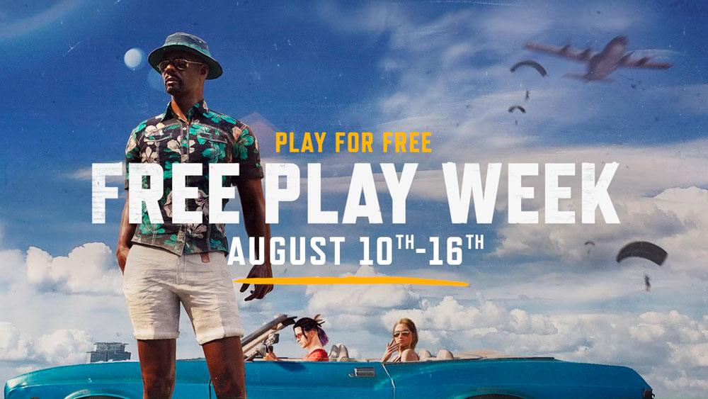 Бесплатная неделя в PUBG