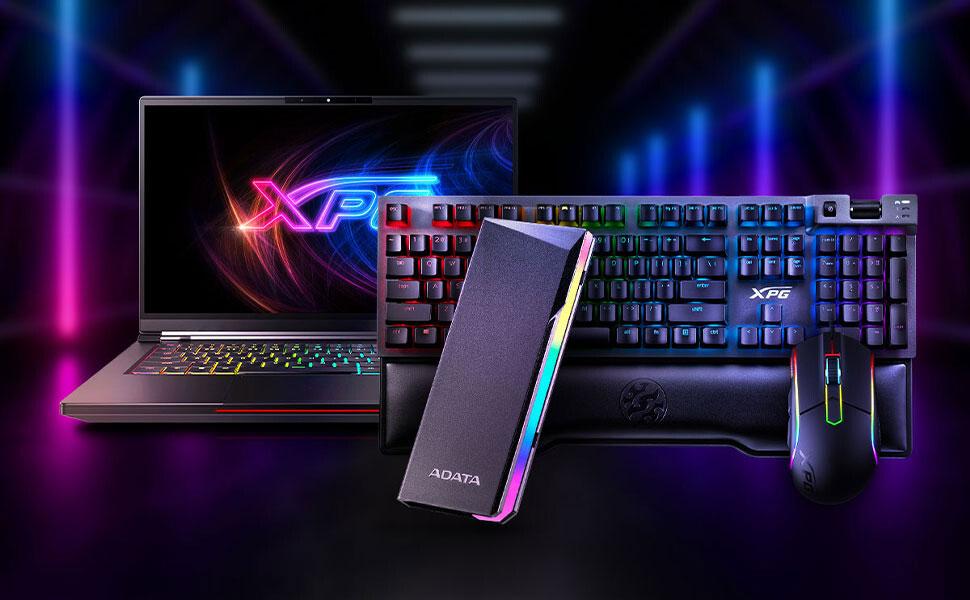 Украшаем свой SSD с корпусом RGB EC700G от ADATA
