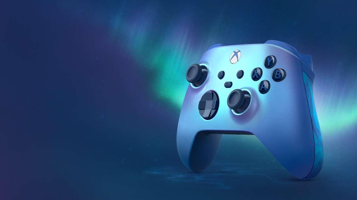 Xbox получает новый красивейший геймпад Aqua Shift Special Edition