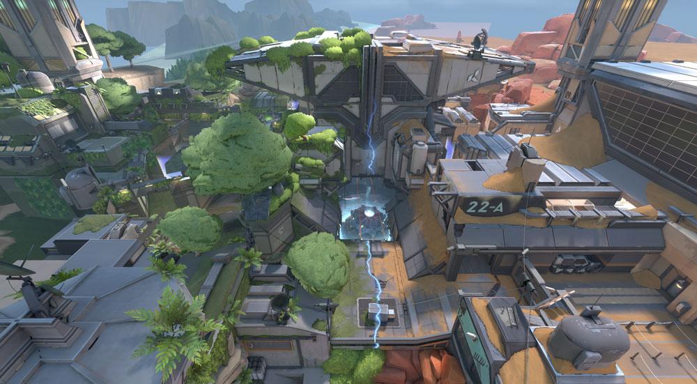 В VALORANT появится новая карта Fracture, которая раскроет больше информации о мире игры