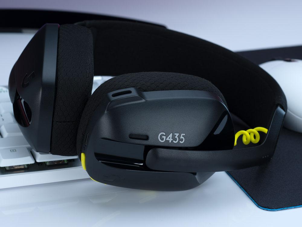 Logitech представила новинку: игровую гарнитуру Logitech G435