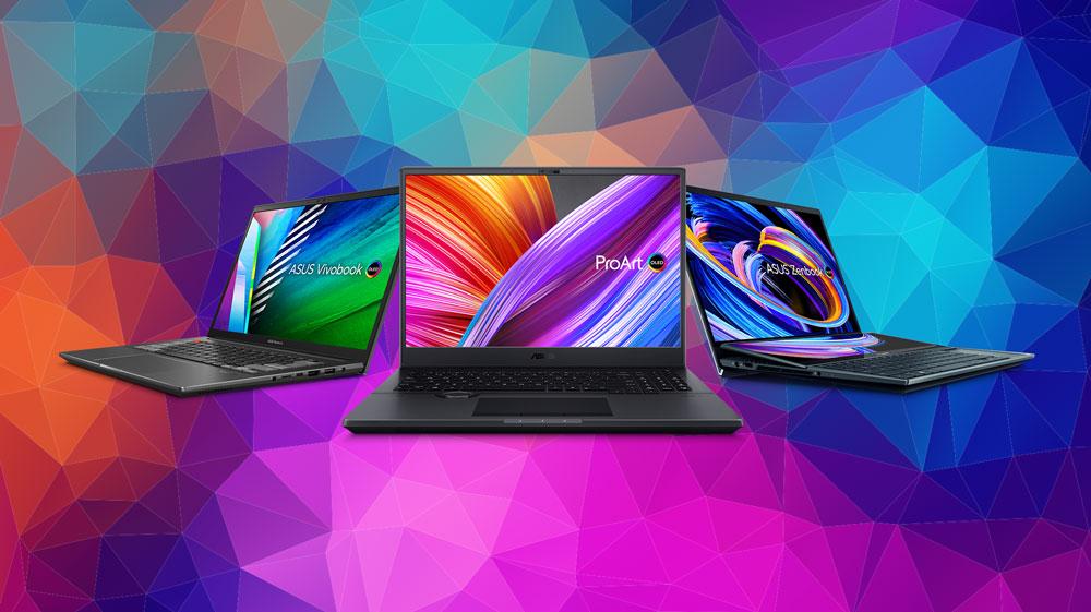 ASUS представляет широкий выбор ноутбуков с дисплеями OLED на любой вкус