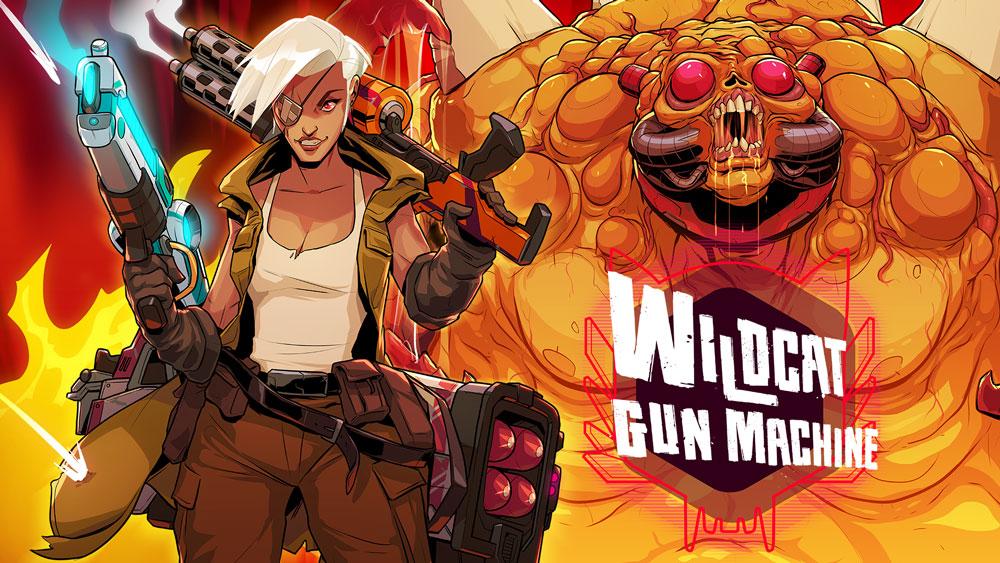 Студия Chunkybox Games анонсировала игру Wildcat Gun Machine