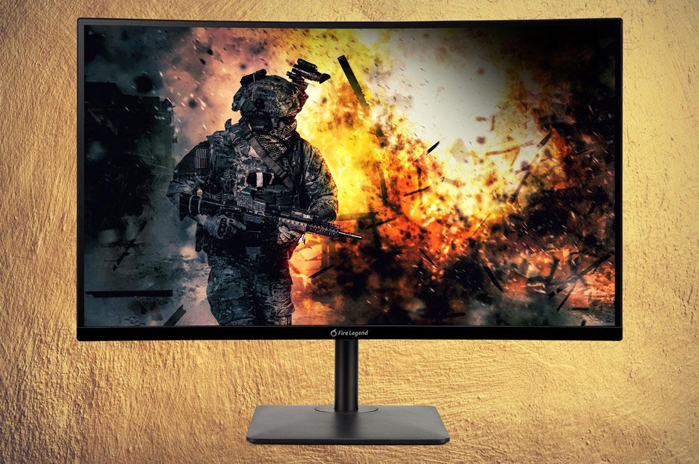 AOPEN представила доступный игровой монитор с большой диагональю и изогнутым экраном AOPEN 27HC5RZ