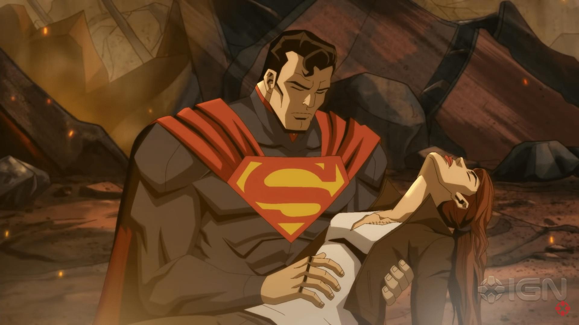 Вышел первый трейлер анимационной экранизации Injustice