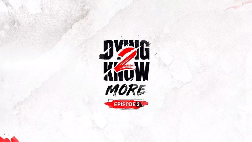 Вышел новый эпизод Dying 2 Know MORE об оружии