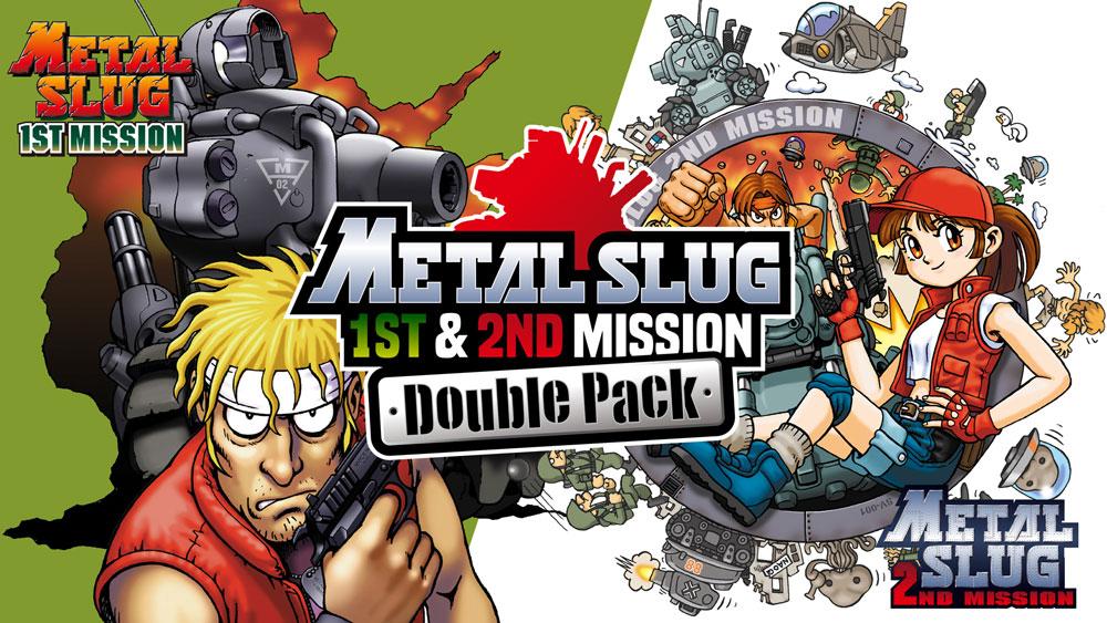 Сборник Metal Slug 1st & 2nd Mission Double Pack поступил в продажу на Nintendo Switch