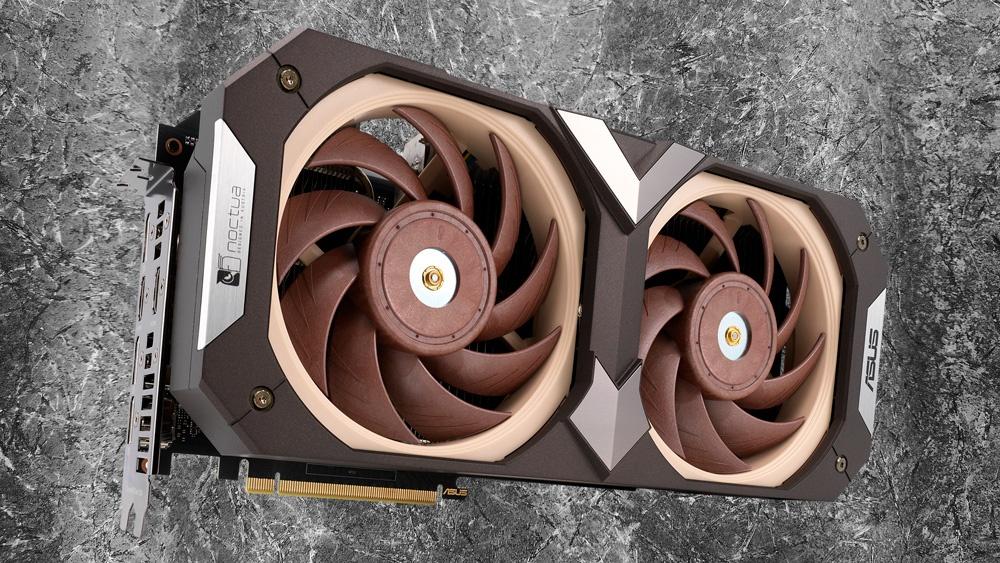 ASUS совместно с Noctua представили особую версию GeForce RTX 3070