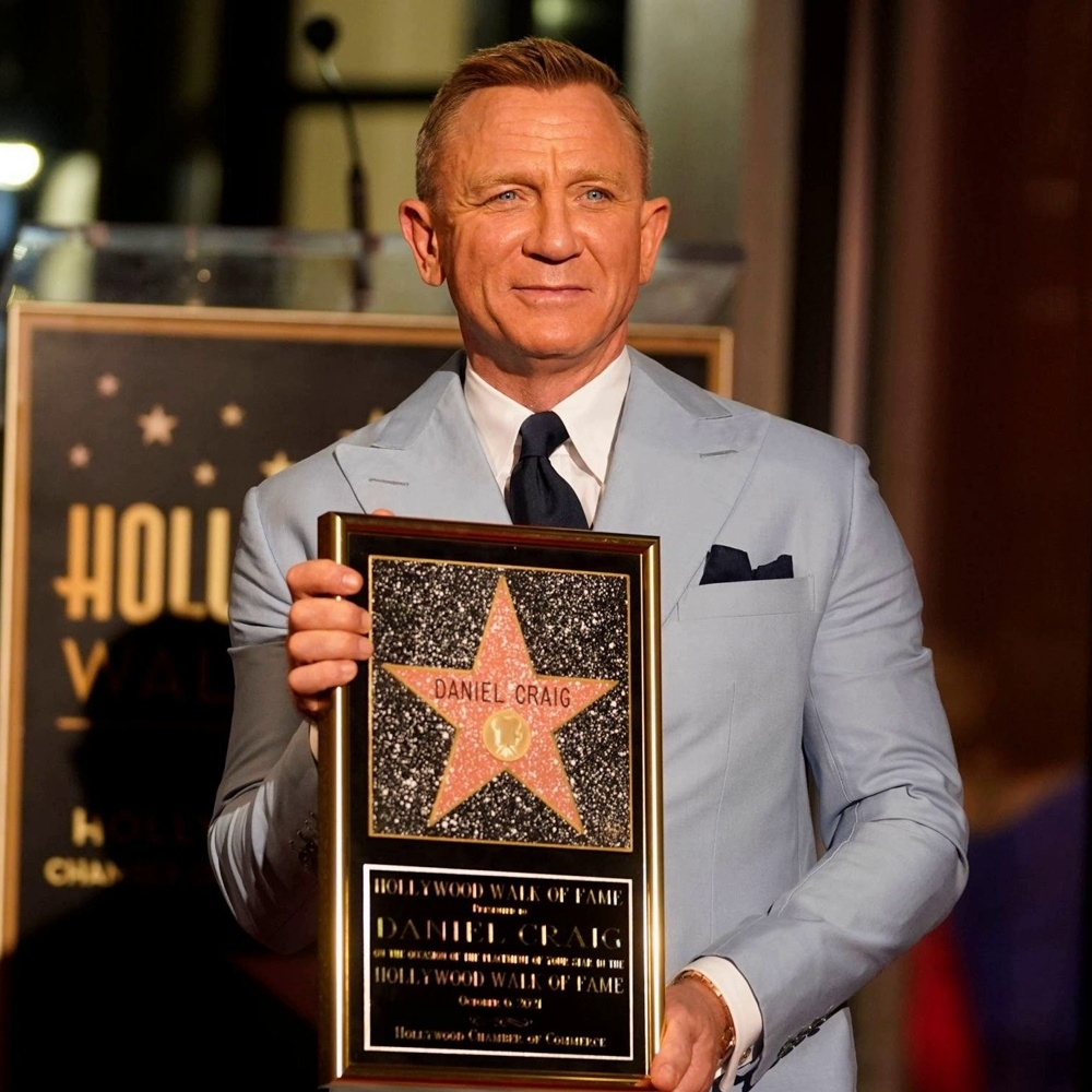 Дэниэл Крейг получил звезду на «Аллея славы»