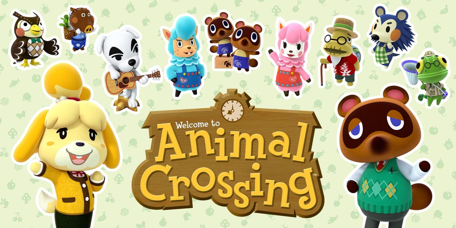 Трансляция Animal Crossing Direct