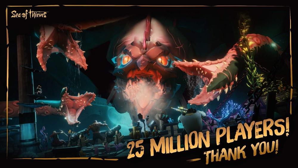 25 миллионов игроков стали пиратами