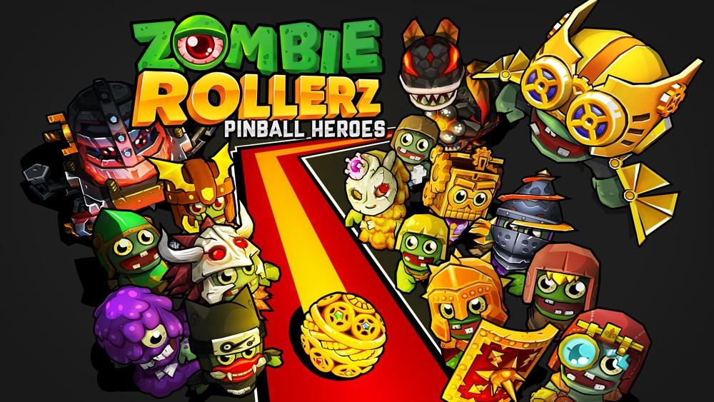Ядерная смесь пинбола и tower defense Zombie Rollerz выйдет на PC и Nintendo Switch