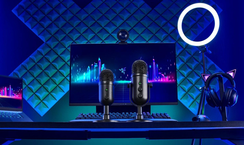 Razer объявила о выпуске двух новых микрофонов для стриминга – Seiren V2 Pro и Seiren V2 X
