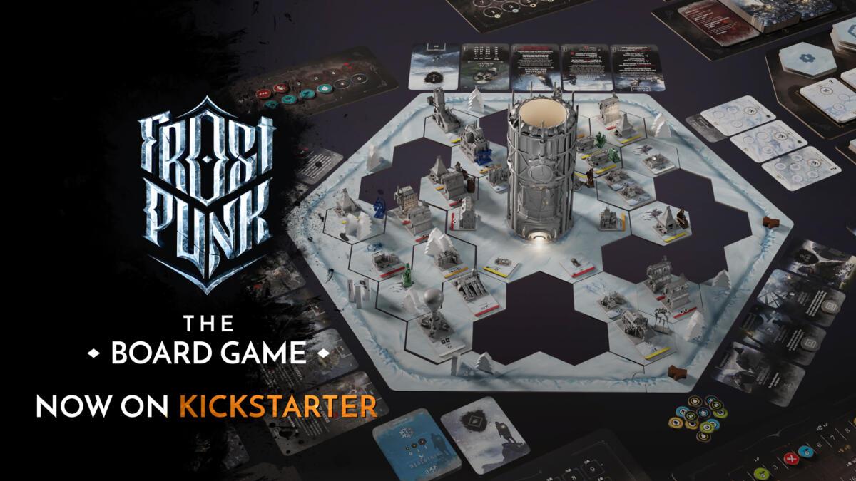 Frostpunk The Board Game - live on Kickstarter (1)