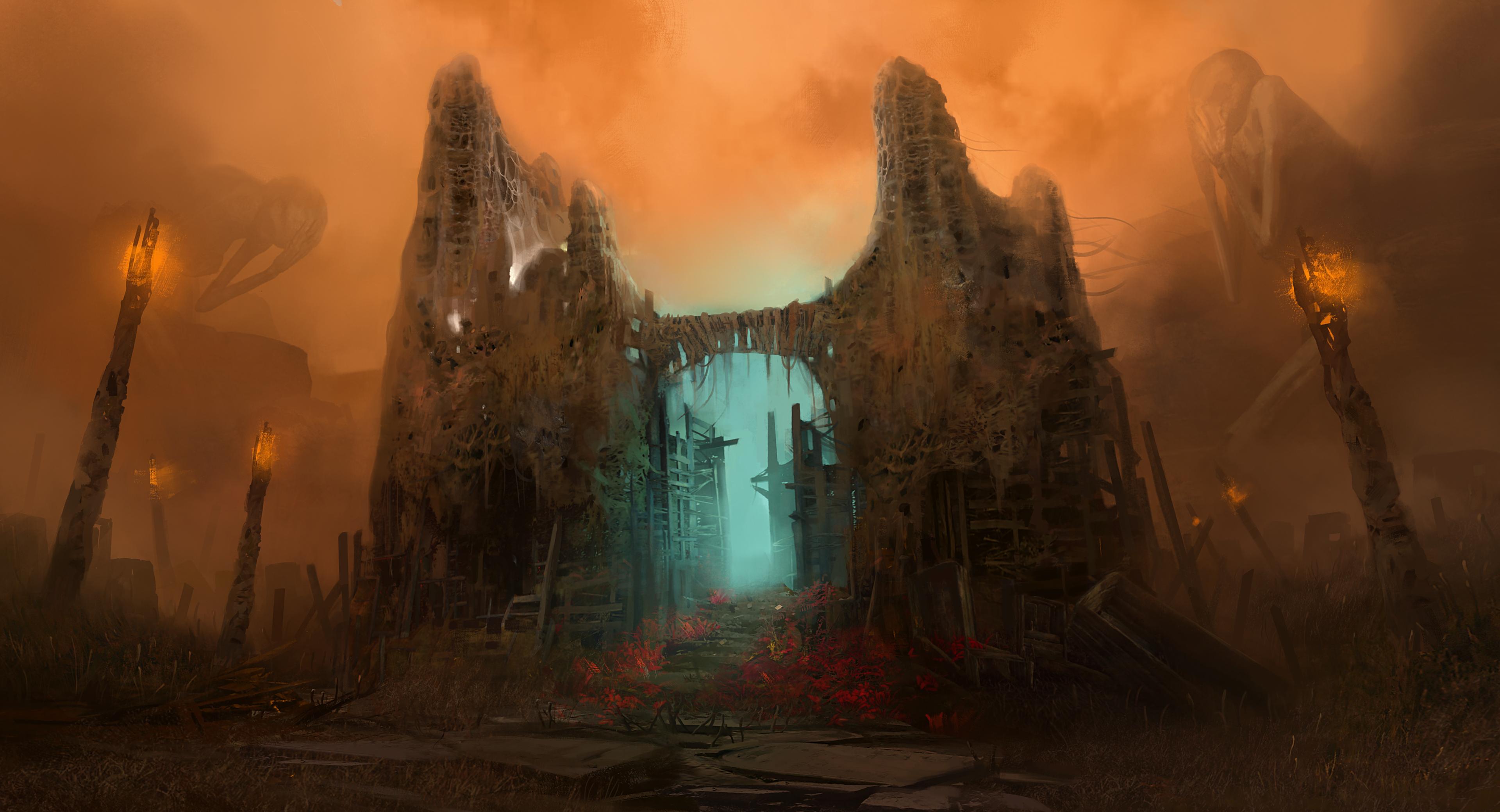 TheMedium ConceptArt AbandonedHouse