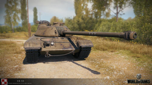 WOT PC Update 1 10 Polish Tank CS 53 01