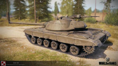 WOT PC Update 1 10 Polish Tank CS 53 03