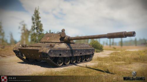 WOT PC Update 1 10 Polish Tank CS 63 02