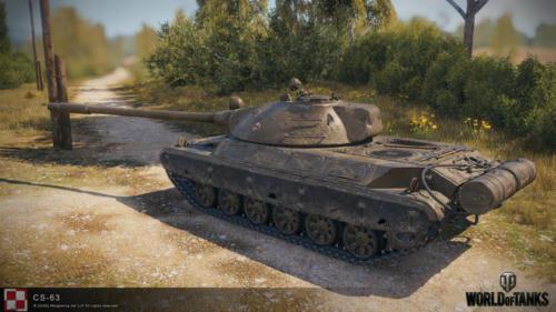 WOT PC Update 1 10 Polish Tank CS 63 03