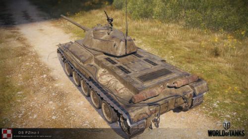 WOT PC Update 1 10 Polish Tank DS PZlnz 1 02
